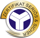 Zertifikat Seriös und Sicher